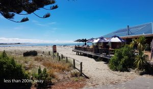 Christchurch Accommodation attraction: Sumner's Beach Bar