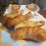 Christchurch Bed & Breakfast Le Petit Hotel's Breakfast Croissants