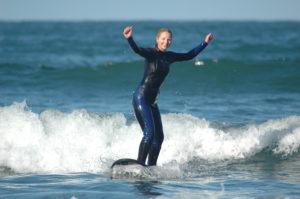 Surfing is definitely available as one of the things to do in Sumner.Lana on Scarborough